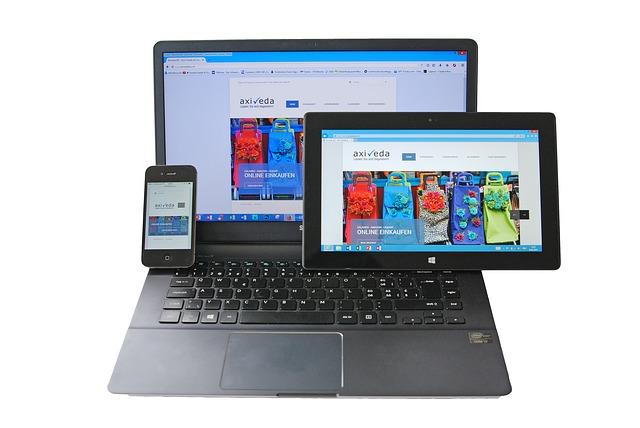 Web adaptada a todos los dispositivos